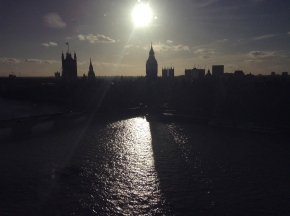 London: The Globe and the LondonEye