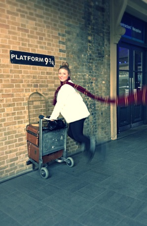 Just in a rush to get to Hogwarts