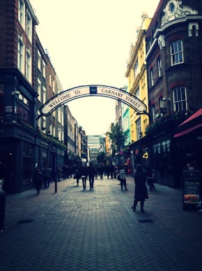 London: Covent Garden and Carnaby Street