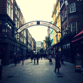 London: Covent Garden and CarnabyStreet
